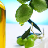 оливки оливки масла Стоковые Фото