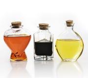 Оливковое масло и уксус Стоковое Изображение