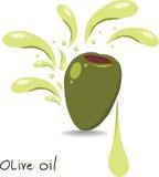 Оливковое масло иллюстрация штока