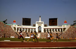 1984 Олимпиады лета, Лос-Анджелес, CA Стоковые Изображения RF