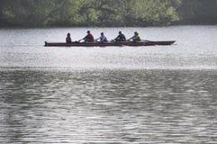 Олимпийская весельная лодка Стоковые Изображения