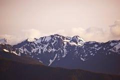 Олимпийские горы стоковое изображение