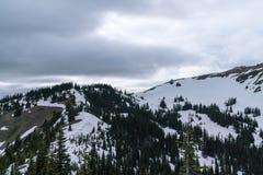 Олимпийские горы стоковая фотография