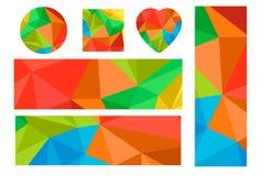 Олимпийские Игры 2016 Рио - установленные знамена и значки иллюстрация вектора