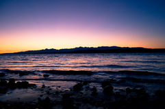 Олимпийский заход солнца Стоковое Изображение