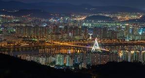 Олимпийский мост Стоковое Изображение