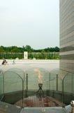 Олимпийский парк в Сеуле в лете, Южной Корее Стоковые Изображения RF