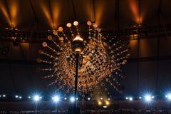 Олимпийский погребальный костер 2016 Стоковая Фотография