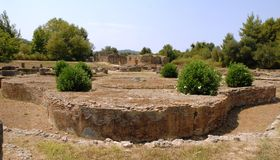Олимпия Греция стоковое фото