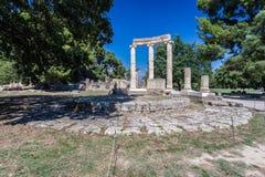 Олимпия Греция Tholos Стоковые Фотографии RF