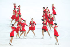 Олимпия команды Стоковые Фотографии RF