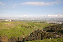 долина Иордана Стоковая Фотография