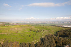 долина Иордана Стоковые Изображения RF