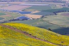 долина Иордана Стоковое Изображение RF