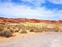 долина Невады пожара Стоковое фото RF