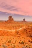 долина памятника ландшафта сценарная Стоковые Изображения