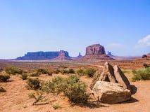 долина песчаника памятника образования гигантская стоковая фотография rf