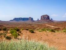 долина песчаника памятника образования гигантская стоковое изображение