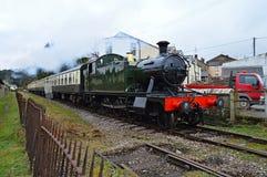долина поезда пара Англии железнодорожная severn Стоковые Фото