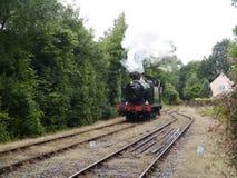 долина поезда пара Англии железнодорожная severn Стоковая Фотография