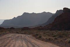 долина положения парка пожара Стоковая Фотография RF