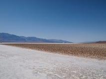 долина смерти тазика badwater Стоковая Фотография