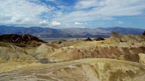 долина смерти Стоковые Фотографии RF