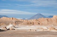 долина луны пустыни Чили atacama Стоковое Изображение