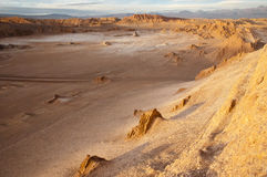 долина луны пустыни Чили atacama Стоковое Изображение RF