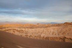 долина луны пустыни Чили atacama Стоковые Изображения RF