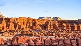 долина Юты положения парка goblin стоковые изображения rf