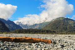 долина josef ледника franz стоковое изображение rf