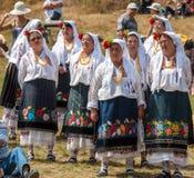 одиннадцатый национальный фестиваль болгарского фольклора Стоковая Фотография
