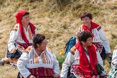 одиннадцатый национальный фестиваль болгарского фольклора Стоковое Изображение