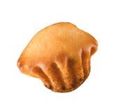 Одиночная изолированная булочка Стоковые Фото