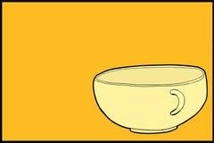 Одиночное пустое чашка бесплатная иллюстрация