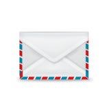 Одиночный закрытый изолированный конверт Бесплатная Иллюстрация