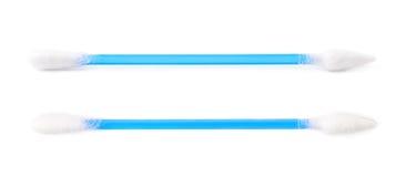 Одиночный изолированный бутон пробирки хлопка Стоковое Изображение