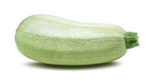 Одиночный изолированный цукини vegetable сердцевины сквоша Стоковые Фотографии RF