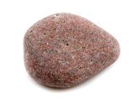 Одиночный камень изолированный на белой предпосылке Стоковые Изображения RF