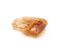 Одиночный кристалл сахара утеса Стоковое Изображение