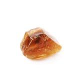 Одиночный кристалл сахара утеса Стоковая Фотография