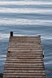 Одиночный док в воде Стоковые Фото