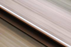 Одиночный рельс в нерезкости движения 01 Стоковое Изображение
