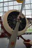 Одиночный самолет пропеллера Стоковые Фотографии RF