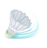 Одиночный челнок тенниса; принципиальная схема движения Иллюстрация вектора
