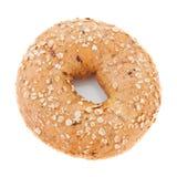 Одиночный bagel Стоковые Изображения RF