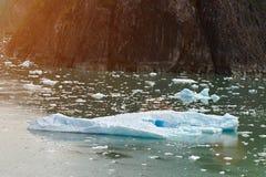 Один большой айсберг Стоковые Фото