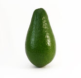 Один весь зрелый авокадо Стоковые Фотографии RF