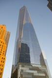 Один всемирный торговый центр - Нью-Йорк, Манхаттан Стоковая Фотография